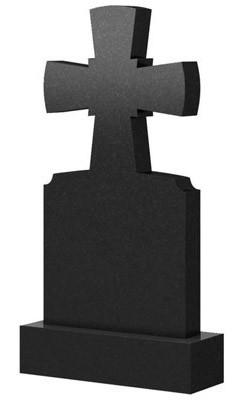 Памятник в виде креста из гранита (100 см) К-24