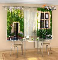 Фото шторы Зеленое Окно