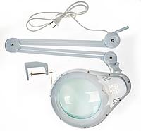 Лампа-лупа 5D на струбцыне д. 178см Bourya, фото 1