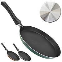 "Сковорода для блинов Stenson ""Blackcurrant"" антипригарная, диаметр 22см, металл, сковородка, сковородки,"
