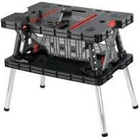 Стіл стол верстак  Keter  237005 професійний + 2 струбцини в комплекті