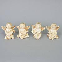 "Статуэтка декоративная для интерьера ""Ангел"" SY329, керамика, 9х8 см, 4 вида, фигурка декоративная, статуэтка"