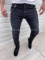 Мужские серые джинсы Dsquared2