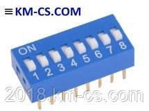 ІВ панелька DIP SWD1-8