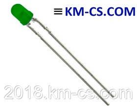 Светодиод L-7104GD (Kingbright)