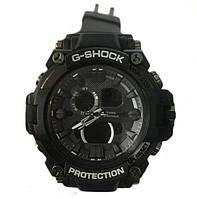 Чоловічі наручні кварцові годинники G-SHOCK-2 чорні, 20 ATM, підсвічування, наручні годинники G-SHOCK-2, чоловічі годинники,