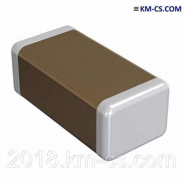 Конденсатор керамический, чип C-1206 100pF 500V NP0 5% (Yageo)