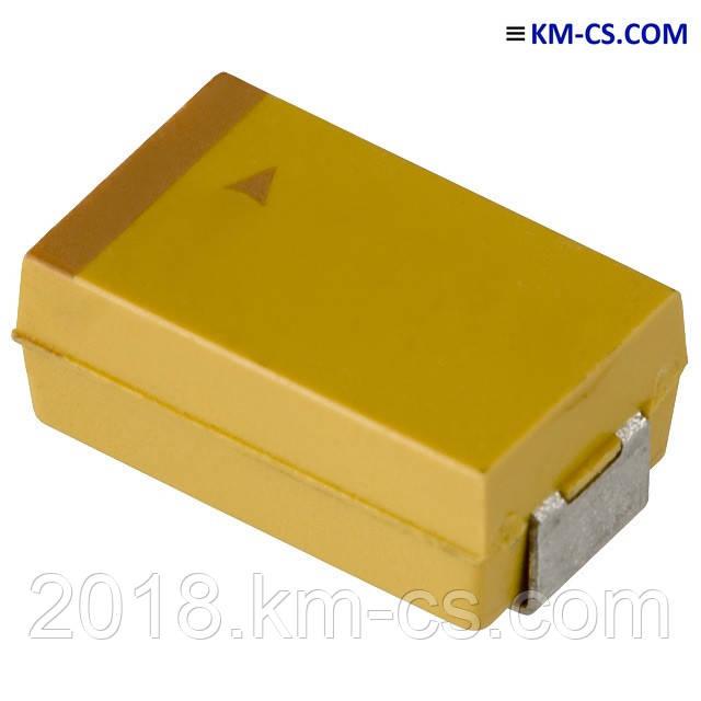 Конденсатор танталовий C-TA 4.7 uF 50V case D