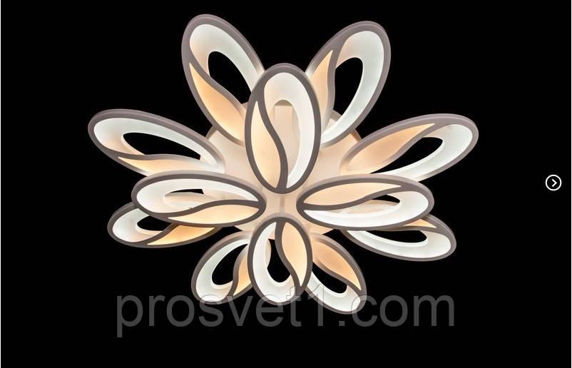 Світлодіодна люстра припотолочная 5565/8+4 Dimmer ЛЗ