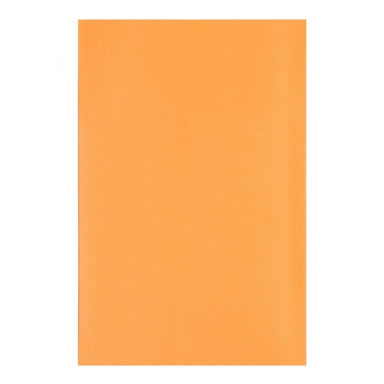 """Фоаміран А4 """"Santi"""" помаранчевий,товщина 1,7мм, EVA,клейкий №742724(10)"""