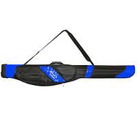 Рибальський чохол для спінінгів напівжорсткий Dahlia на ремені, 1.2 м ш.10-21 см, чохол на вудку, чохол для