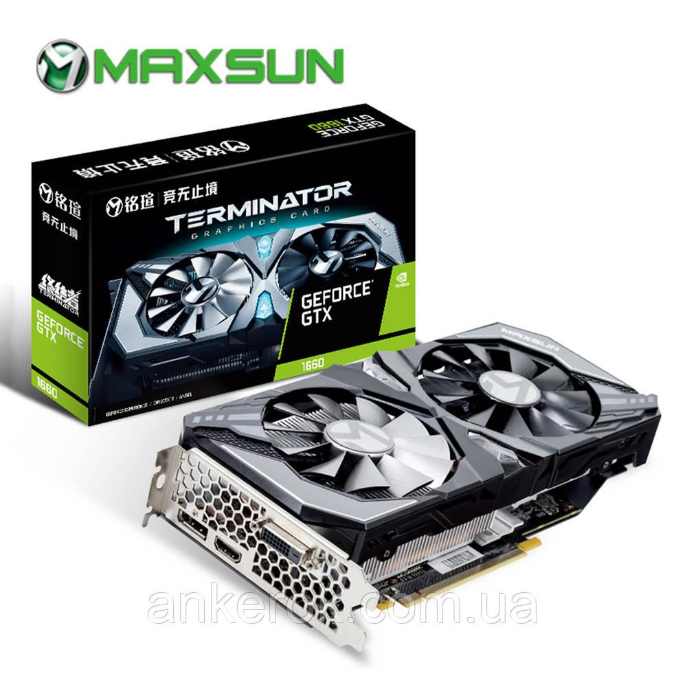 Відеокарта MAXSUN GeForce GTX 1660 SUPER 6GB Terminator