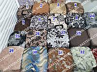 Чехлы на табуретки комплект 4 шт на резинке (сидушка на табурет, стул) №3
