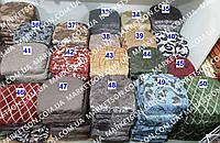 Чехлы на табуретки комплект 4 шт на резинке (сидушка на табурет, стул) №27/5