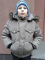 Зимняя куртка для мальчика 8 10 12 лет