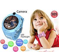 Дитячі розумні годинник з GPS Smart baby watch Q610S Blue, фото 1