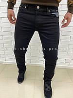 Мужские черные джинсы Armani