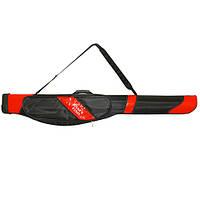Рибальський чохол для спінінгів напівжорсткий на ремені Bedfordia 1.5 м, 10-21 см, чохол на вудку, чохол для