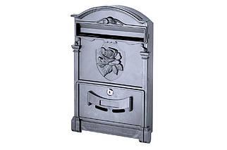 Почтовый ящик Vita - роза (черный) (PO-0018), (Оригинал)