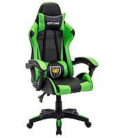 Стул офисный Компютерне крісло EXT ONE зелене Кресло игровое Геймерське крісло Офісне крісло для компютера