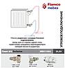 """Комплект угловой для подключения радиаторов (Пакет No2 Exclusive) 1/2"""" Meibes (Германия)"""