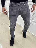 Мужские серые джинсы Armani