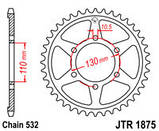 Звезда задняя стальная  JT  JTR1875.48 JT Sprockets, фото 2