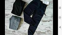 Спортивные штаны для девочки на 5-8 лет синего, серого, черного оптом