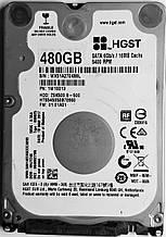Жесткий диск HDD 480GB 5400rpm 16MB SATA III 2.5 Slim Hitachi Z5K500.B HTS545050B7E660