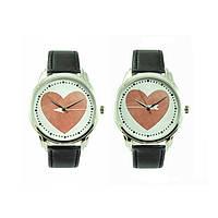 """Парные Наручные часы для влюбленных 2 пары в комплекте """"Сердце"""""""