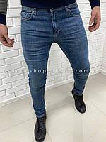 Светло-синие джинсы Hugo