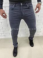 Мужские серые джинсы Lacoste