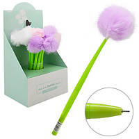 Детская гелевая ручка Одуванчик цена за 48 шт, пластик, разные цвета, ручка детская, ручка