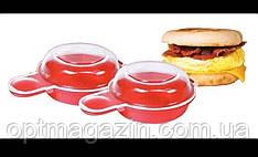 Форма для приготовления яиц в микроволновке Easy Eggwich, фото 2