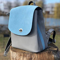 Многофункциональный женский рюкзак от украинского производителя ТМ Lucherino. Имеет плотную подкладку.