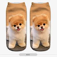 Носки унисекс 3D собака, фото 1