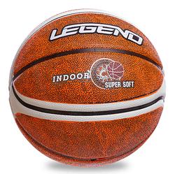 Мяч резиновый Баскетбольный LEGEND BA-1912