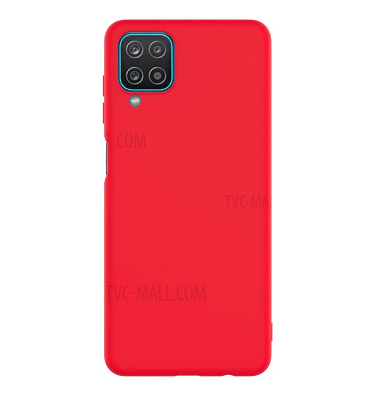 TPU Soft case Samsung A12 (Красный)