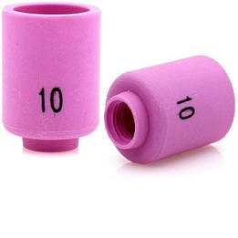 Сопло керамічне 15.7 mm 13N13 до ТІГ Пальників TIG 9 TIG 20 TIG 25 пакування 10 шт.
