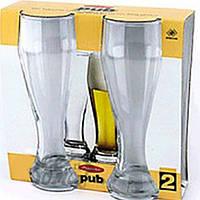 Бокал пиво Pub 665мл, h-23,4см, набор 2шт /42756