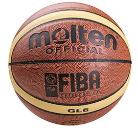 Баскетбольный мяч Molten №6 PU GL6