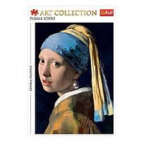"""Пазл """"Ян Вермеер. Дівчина з перловою сережкою"""", 1000 елементів Trefl Art Collection (5900511105223)"""