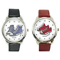 """Парные Наручные часы для влюбленных 2 пары в комплекте """"walk together"""""""