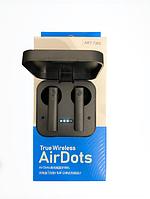 Беспроводныеблютуз наушники Xiaomi AirDots MiAir2s TWSЧерные