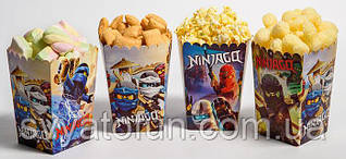 Коробочка для попкорна и сладостей Ниндзяго