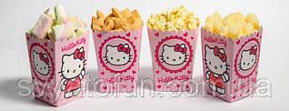 Коробочка для попкорна и сладостей Hello Kitty
