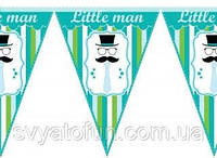 Гирлянда треугольная Little Man