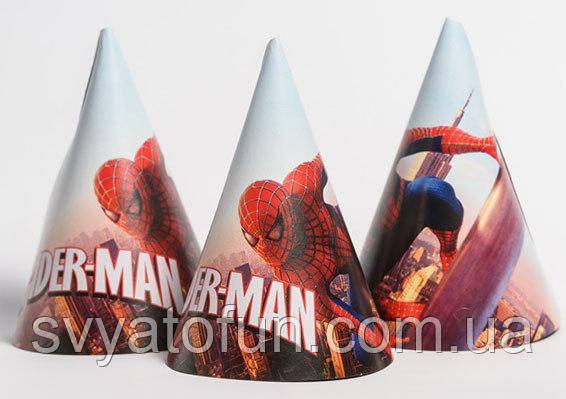 Колпачок Человек-паук 15см 20шт/уп