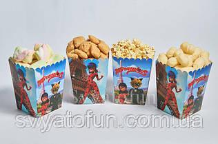 Коробочка для попкорна и сладостей Леди Баг