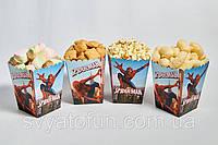 Коробочка для попкорна и сладостей Человек паук